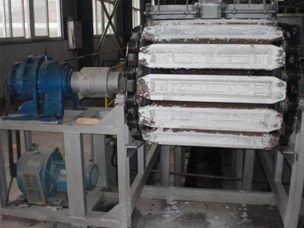 铝锭铸造机